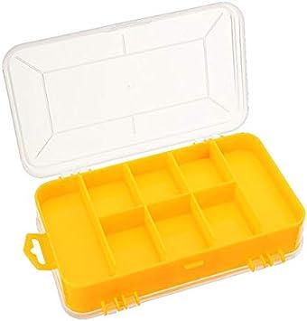 GIlH caja de herramientas doble electrónica de plástico partes caja de herramientas SMD SMT caja de almacenamiento de componentes de tornillo: Amazon.es: Bricolaje y herramientas