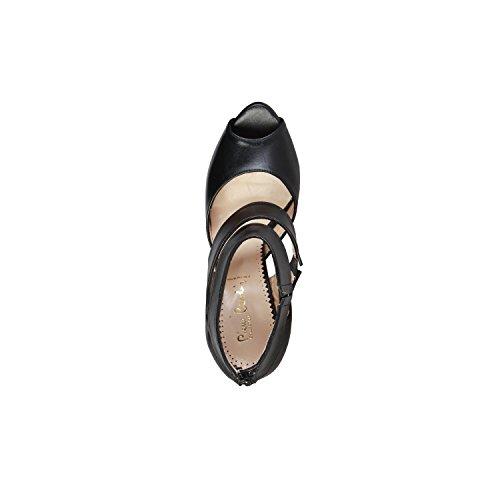 PIERRE CARDIN PIERRE CARDIN EW-1016 Sandali Donna Con Zip Posteriore E Laterale Elastico Tacco: 12 cm