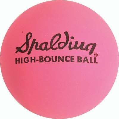 Spalding High-Bounce Ball (Pack of 4) by Olympia Sports