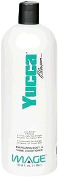 Image Yucca Blossom, Energizing Body Shine Conditioner, 33.8 fl oz 1 lt
