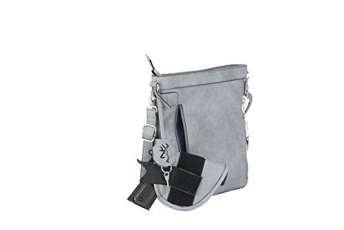 Holster Ccw Browning Zipper Purses Leather Grey Built Locking In Carry Concealed Pu catrina wnX4XqOx8A