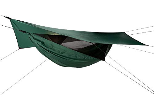 Hennessy Hammock - Jungle Safari Zip XXL - Double Bottom Holds a Heat Reflecting Pad on The Correct...