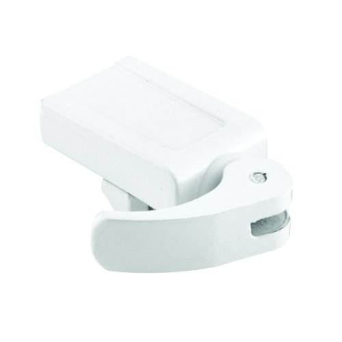 Prime-Line Products U 10547 Sliding Window Lock, 1-1/2 in., Diecast Construction, White, For Vinyl Windows (Pack of 2) by Prime-Line Products