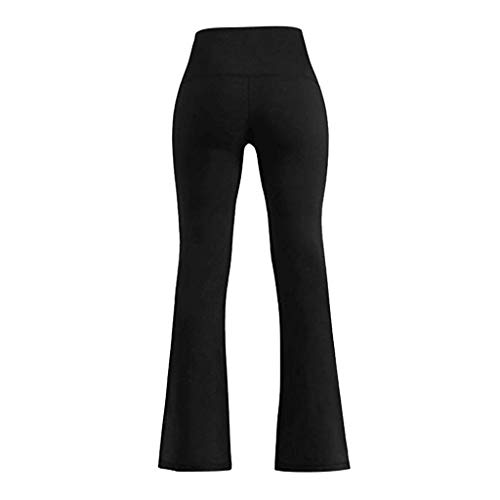 ♥Women's High Waist Yoga Pants,Clearance-Ladies Casual Tummy Control Essentials Workout Wide Leg Trouser Long Pant Leggings