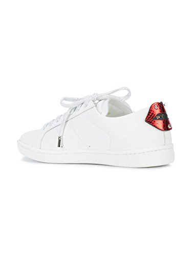 Sneakers Bianco Pelle Donna Laurent 484928EXV606547 Saint 5IqRXR