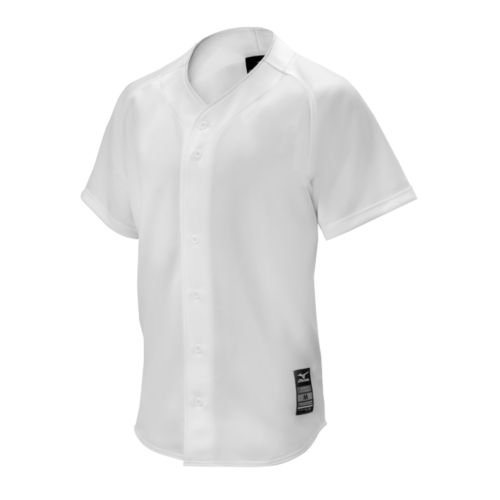 Mizuno Baseball Jersey - Mizuno 350548.0000.04.S Youth Comp Game Jersey S White