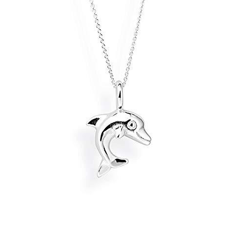 Ciondolo a forma di delfino in argento Sterling 925 da donna collezione Delfino Heartbreaker