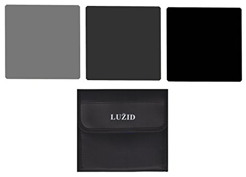 ICE 150mm ND 3 Filter Set ND8 ND64 ND1000 Neutral Density Optical Glass 150 Kit Lee SW150 Compatible 150 ND by Ice