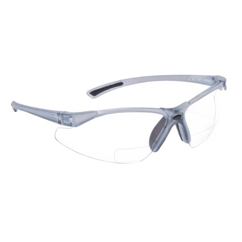 Radians C2-120 Bi-Focal Reading Safety Glasses with Clear 2.0 - Glasses Bifocal Safety Reading