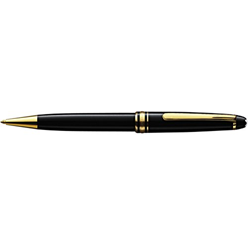 Montblanc Meisterstuck Classique Ballpoint Pen 164 Black with Gold Trim by MONTBLANC