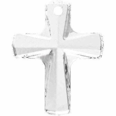 6860 Swarovski Pendant Cross | Crystal | 12x10mm - 6860 Cross Pendant | Small & Wholesale Packs | Free (Crystal Cross Pendant Beads)