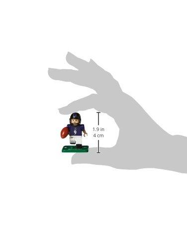 Small White OYO NFL Baltimore Ravens Gen4 Limited Edition Justin Tucker Mini Figure