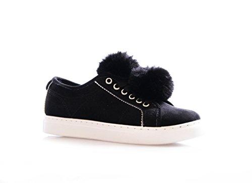 Koo-T , Damen Sneaker Schwarz