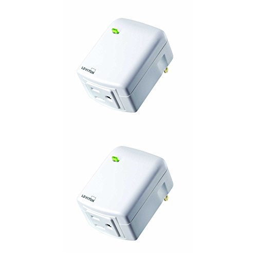 Leviton DW15A 1BW Decora Outlet Required