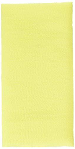 SALUX Nylon Japanese Beauty Skin Bath Wash cloth Towel Yello
