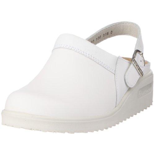 Berkemann Tec-Pro Tirdu Unisex-Erwachsene Clogs Weiß (weiß 100)