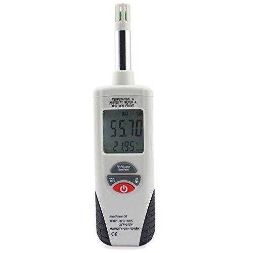 Taotuo Digital LCD Thermometer Hygrometer Temperature Humidi