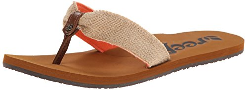Reef REEF SCRUNCH TX - sandalias abiertas de material sintético mujer multicolor - Mehrfarbig (NATURAL / NAT)