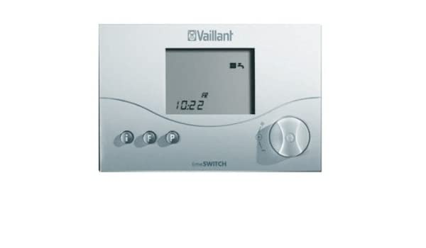 Vaillant 306760 - Programador digital (2 canales, temporizador 140), color blanco: Amazon.es: Hogar