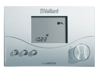 Vaillant 306760 - Programador digital (2 canales, temporizador 140), color blanco