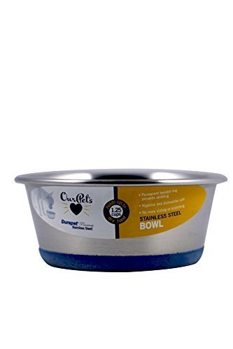 (2 Pack) DuraPet Dog Bowl Capacity: 0.75 Pint/1.25 cups