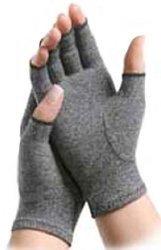 MCK21711300 - Arthritis Glove IMAK Compression Open Finger Medium Over-the-Wrist Hand Specific Pair Cotton / - Specific Hand Gloves