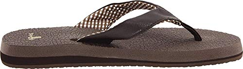 Brown Flip Womens 8 Mat Yoga Sanuk Flops M Us P4xfCqHw