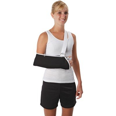 Premium Contact Closure Arm Sling Size: Large, Style: With Pad by Ossur
