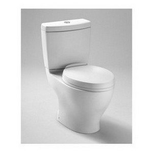 TOTO Aquia II 2-Piece Toilet with Regular Height Bowl and Dual Max Tank