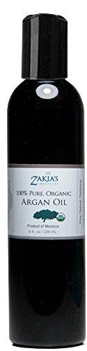 Zakia s Pure, Organic Argan Oil – 8 oz