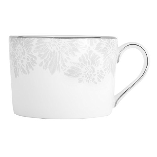 (Wedgwood Vera Chantilly Lace Gray Imperial Teacup)