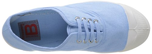 Bensimon Damen Tennis Lacet Femme Flach Bleu (Bleu Clair)