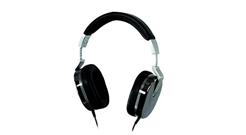Ultrasone Edition 8 Ruthenium S-Logic Surround Sound Professional Closed-back Headphones with Leather Transport Bag (Silver Ultrasone Headphone)
