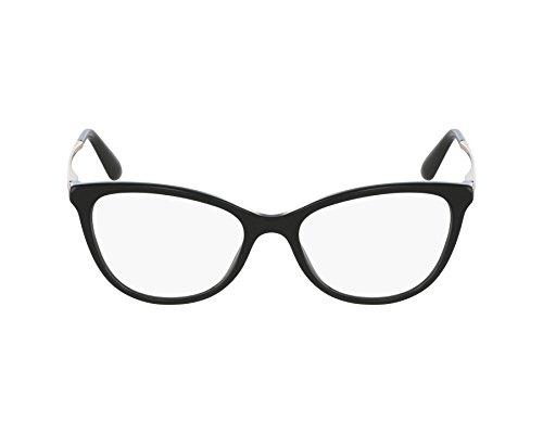 Dolce&Gabbana DG3258 Eyeglass Frames 501-54 - Black ()