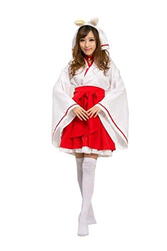Inu X Boku Ss Shirakiin Ririchiyo Cosplay Costume (Cuterole Women's Inu x Boku SS Shirakiin Ririchiyo Cosplay Costume Outfit)