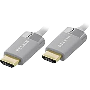 BELKIN AV22306-06 / 6FT HDMI TO HDMI CABLE WHITE - Gold Plated by Belkin Components