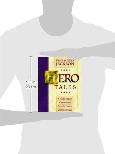Hero Tales: A Family Treasury of True Stories from the Lives of Christian Heroes by Bethany House Publishers (Image #1)