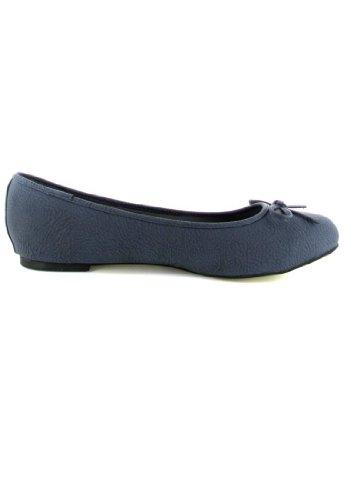 Machado Mais Andres Azuis Bailarinas Em Sapatos Mulheres Tamanhos dnaSqagYx
