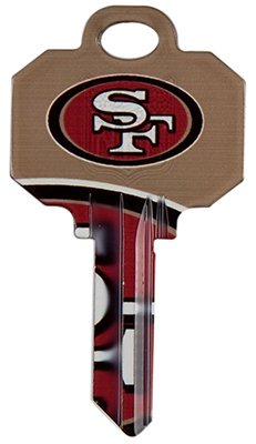 KW1 49ers Team Key (Pack of 5)