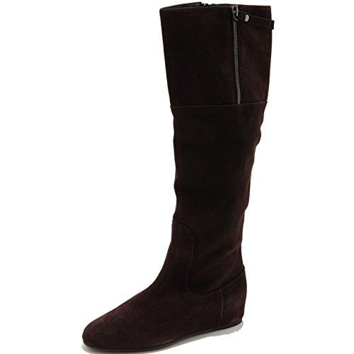 Shoes Marrone Suede Donna Stivale Weitzman 64295 Stuart Brown Scarpa Boots q6wB1A8