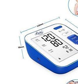 Tensiómetro de Brazo Monitor de presión arterial digital automático para el brazo superior con detección y