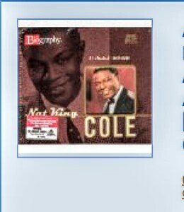 the musical life and career of nat king cole Unlimited free nat king cole music - click to play unforgettable, l-o-v-e and  whatever else you want nathaniel adams coles (march 17, 1919 – february 15, .
