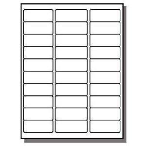 - FBA Laser/Ink Jet Labels, for Bar Code, Asin #, Box Labels, Pallet Labels (50 Sheets 30 Up Labels = 1500 Labels)