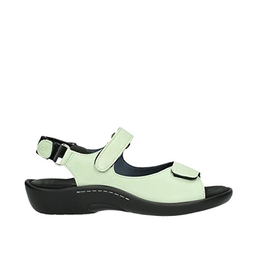 Sandals 270 Salvia Leather Light Wolky Green Womens 1300 wqSvnRZ