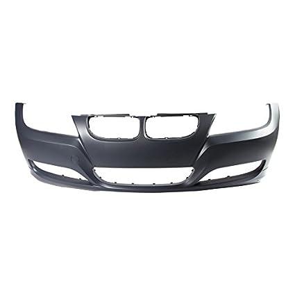 02d33626347c Amazon.com  CarPartsDepot 09-11 BMW E90 E91 Front Bumper Cover BM1000212  For 4 5DR Primered 330i wo M-Pkg  Automotive