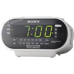 Sony ICF-C318 Dream Machine™ AM/FM Clock Radio in White