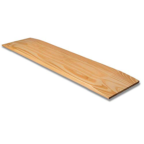 (DMI Wooden Slide Transfer Board, 440 lb Capacity Heavy Duty Slide Boards for Transfers of Seniors and Handicap, 30 x 8 x 1 - Solid Wood )