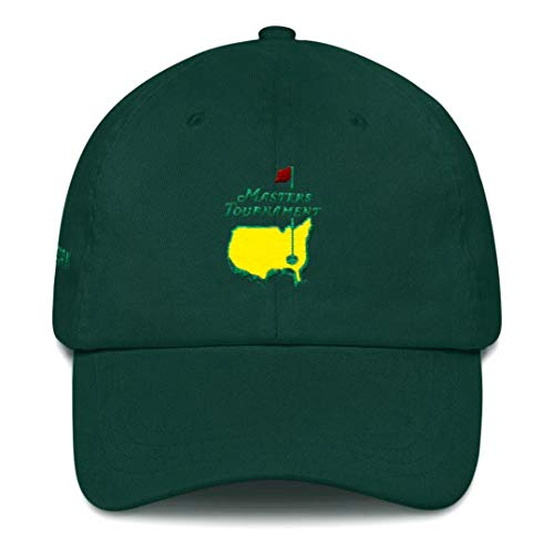 The Masters Hat. Green Masters Golf Hat. Adjustable Strapback Hat. Augusta Green Golf Hat. Masters Merchandise by Form.