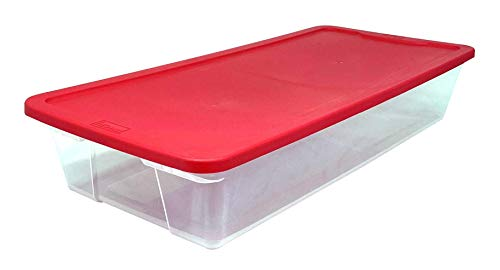 HOMZ Holiday Plastic Storage