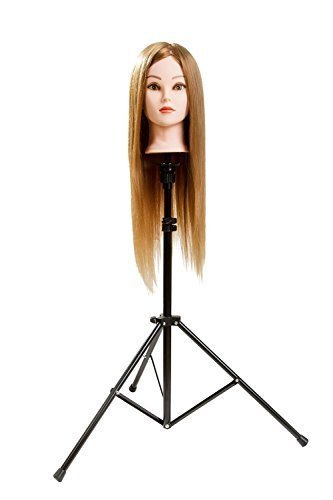 Adjustable Tripod Hairdressing Training Mannequin product image